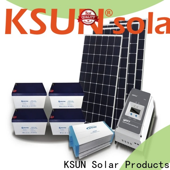 KSUNSOLAR Wholesale off grid solar panels company for powered by