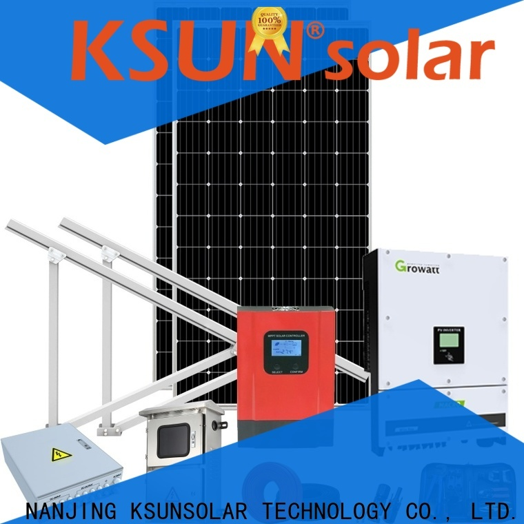 KSUNSOLAR Top grid tied solar system manufacturers For photovoltaic power generation