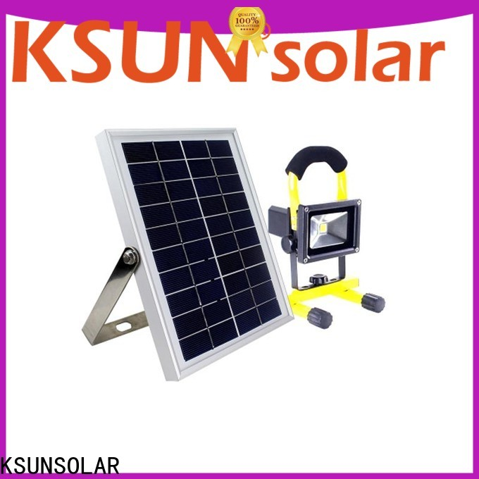 KSUNSOLAR commercial solar flood lights company for Environmental protection