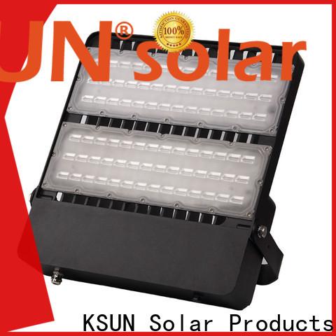 KSUNSOLAR Custom high powered solar flood lights company For photovoltaic power generation