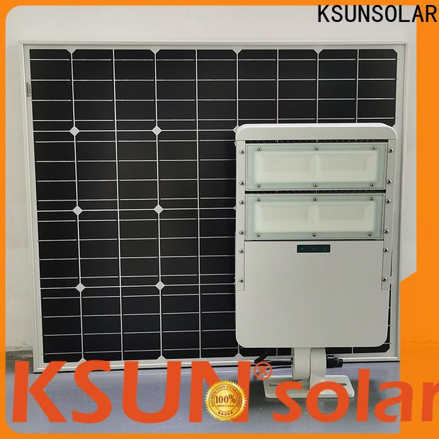 KSUNSOLAR Best solar powered flood lights LED solar power light for business for Environmental protection