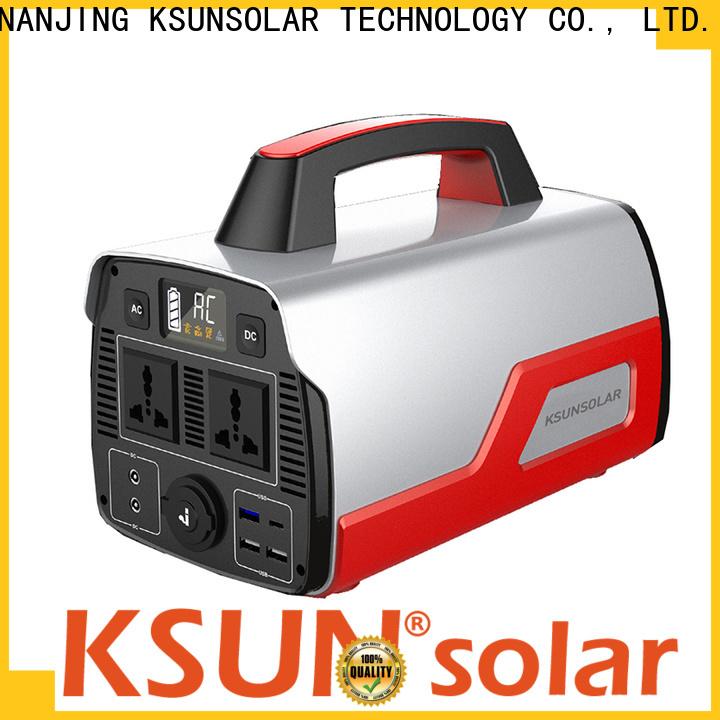 Top portable solar power generator company for Energy saving