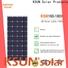 KSUNSOLAR Custom monocrystalline solar panel suppliers for powered by
