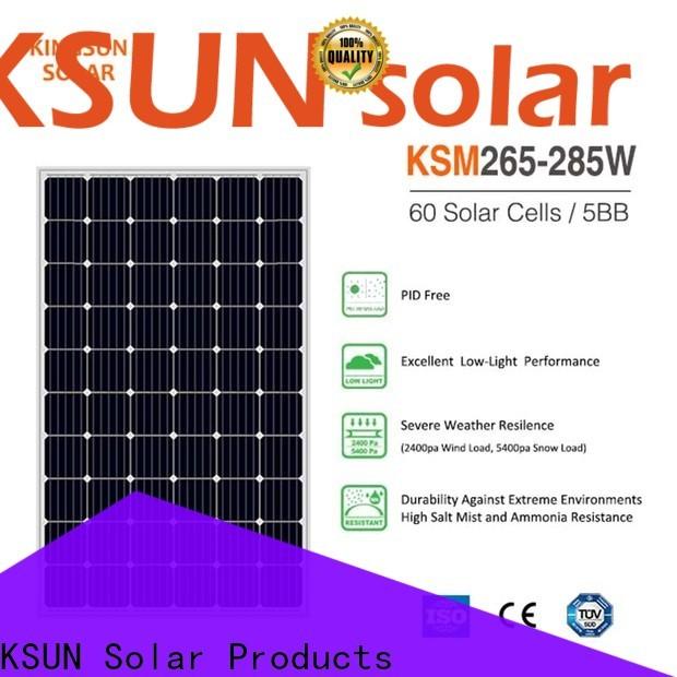 KSUNSOLAR New mono panel company For photovoltaic power generation