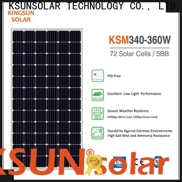 Best mono panel for business for Power generation