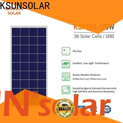 KSUNSOLAR Custom poly solar panels for sale for Environmental protection