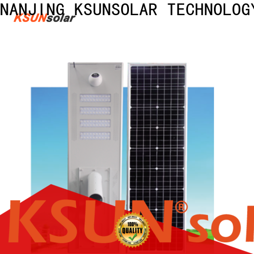 KSUNSOLAR Wholesale solar powered street lights for sale factory for powered by