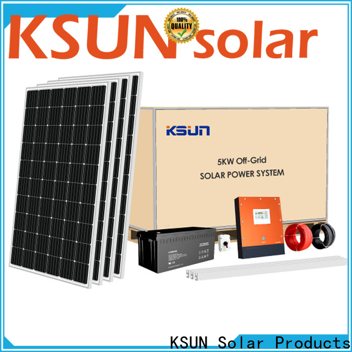 KSUNSOLAR solar system equipment Suppliers for Environmental protection
