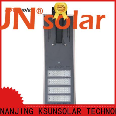 KSUNSOLAR solar powered led street lights price factory for Energy saving