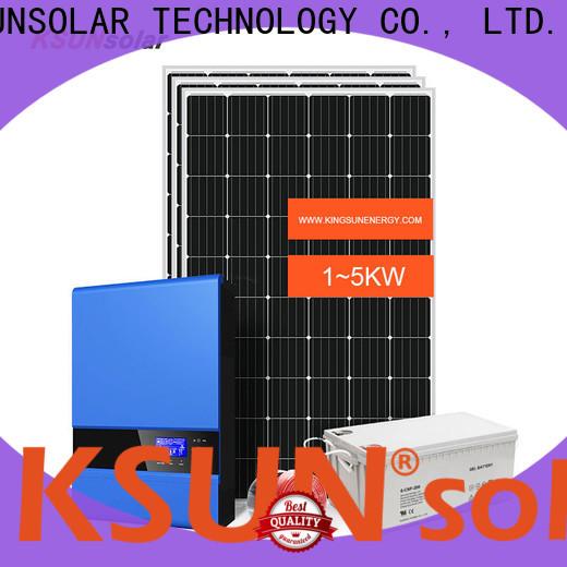 Custom off grid solar solutions factory for Power generation