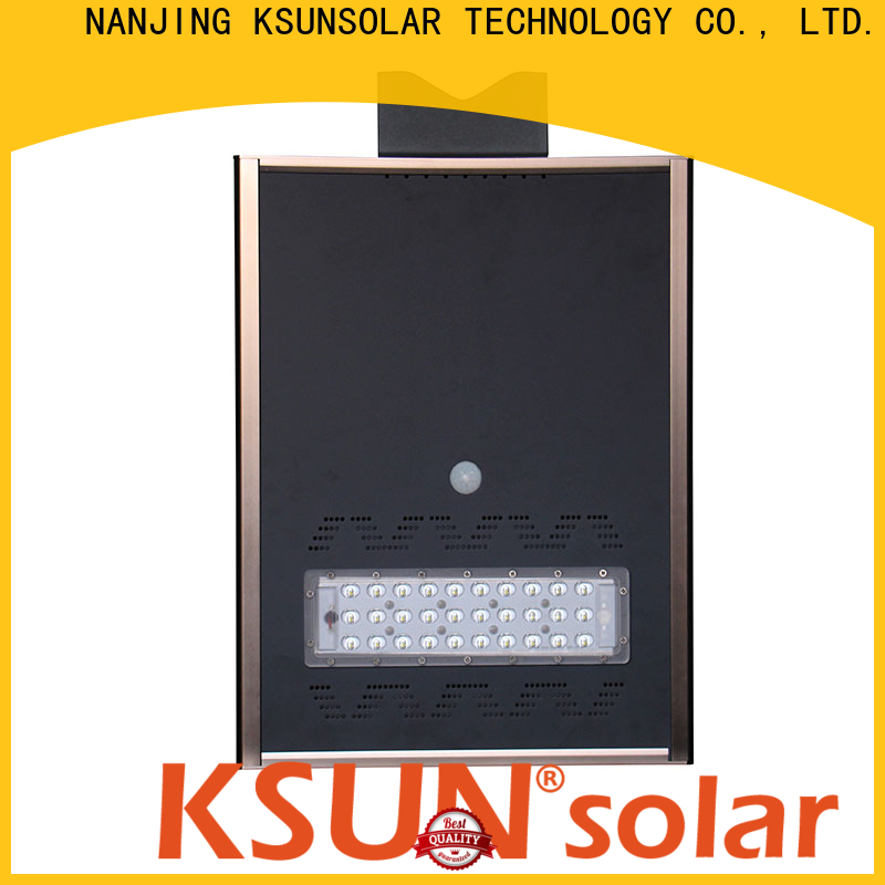 Top solar street light manufacturer company for Environmental protection