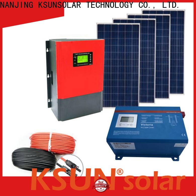 KSUNSOLAR Best solar energy equipment for Power generation