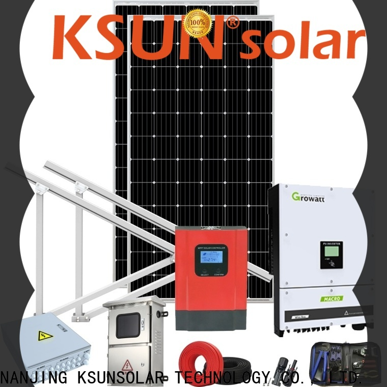 Wholesale grid tied solar kit manufacturers for Power generation