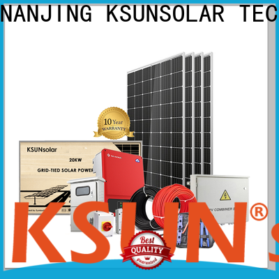 KSUNSOLAR Best residential solar systems Suppliers for Environmental protection
