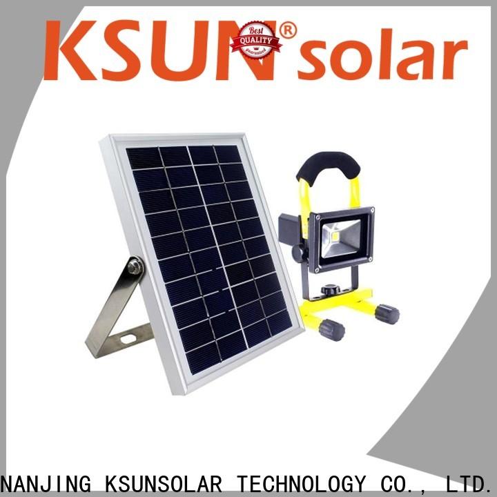 KSUNSOLAR solar LED lights manufacturers for Power generation