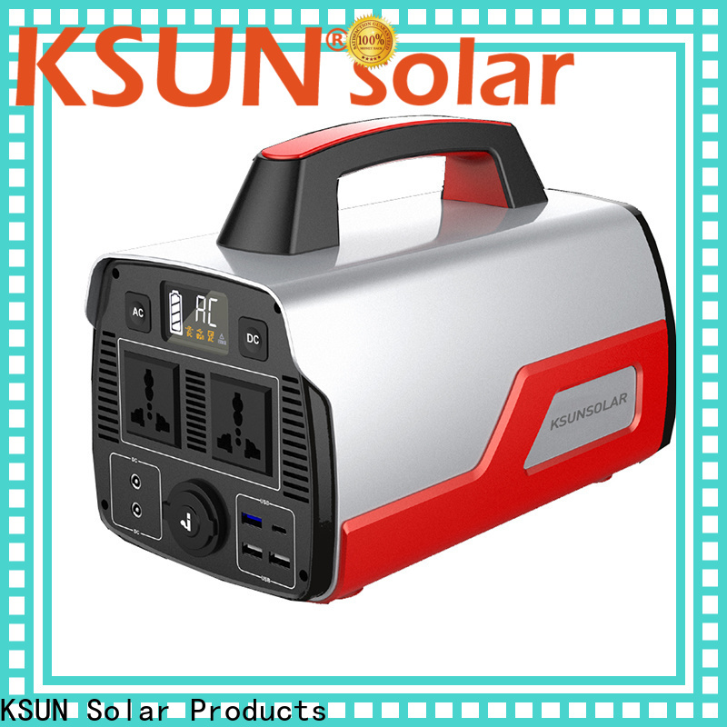 KSUNSOLAR portable solar power supply manufacturers for powered by