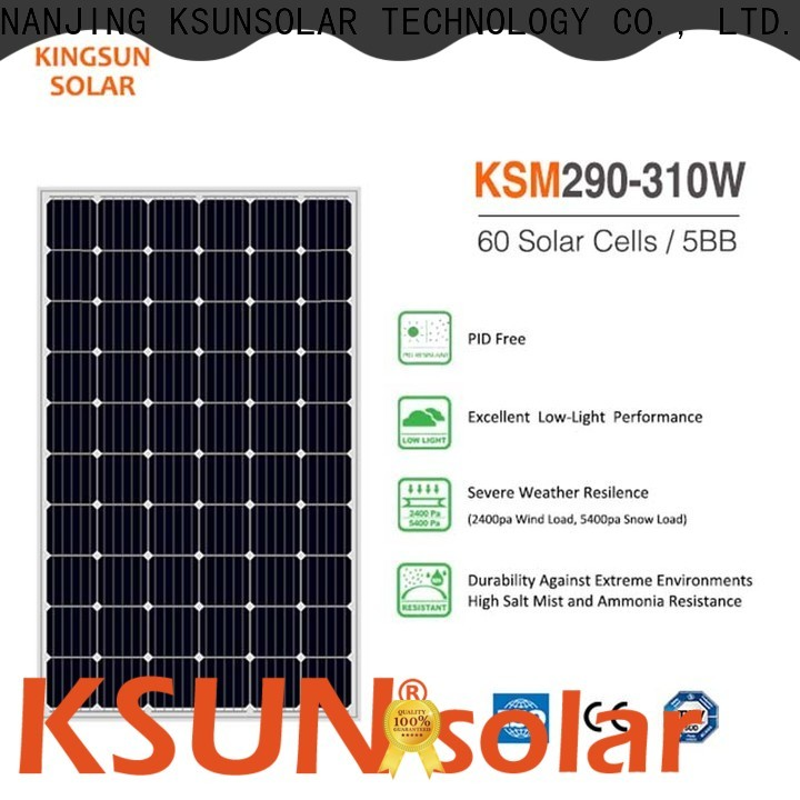 KSUNSOLAR best solar modules factory for powered by