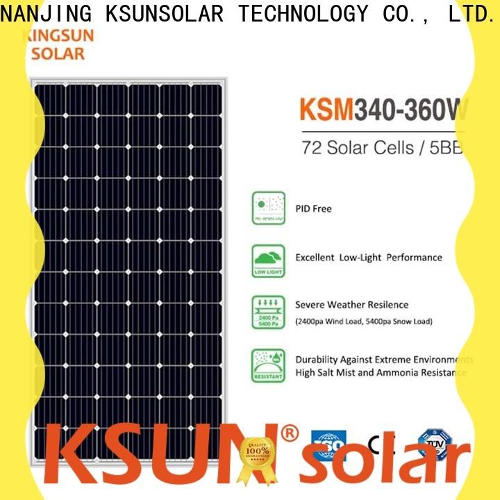 KSUNSOLAR Wholesale monocrystalline solar panel Supply for Power generation