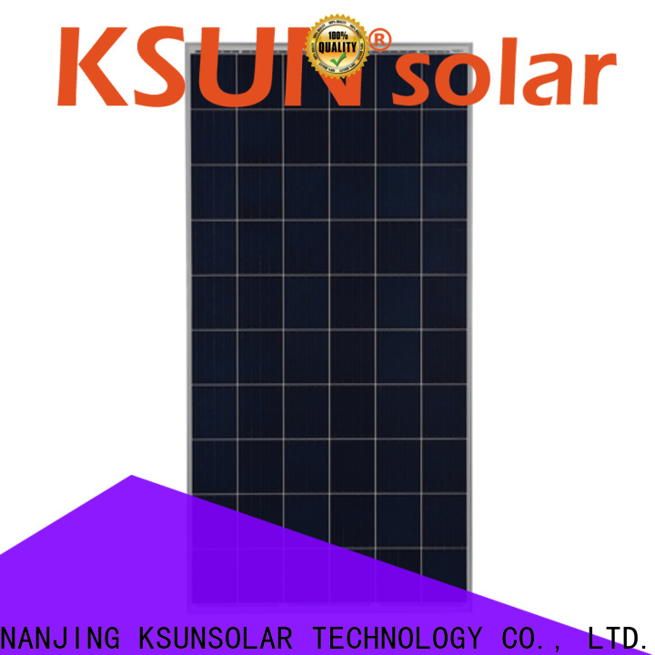 KSUNSOLAR poly solar panel price factory for powered by