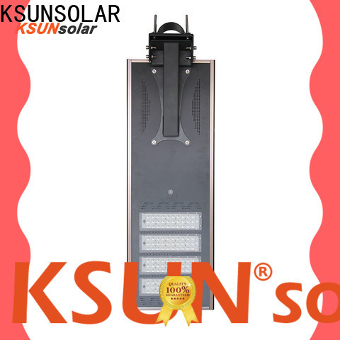 KSUNSOLAR Custom solar powered street lights manufacturers for business for powered by
