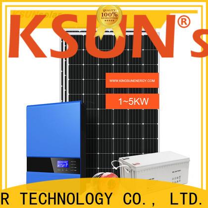 KSUNSOLAR New best off grid solar power system for Power generation