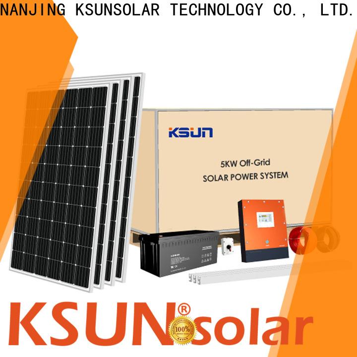 KSUNSOLAR High-quality grid tie solar power system company For photovoltaic power generation