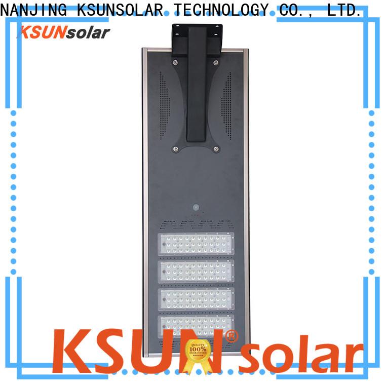 Custom solar street light system for business for Environmental protection