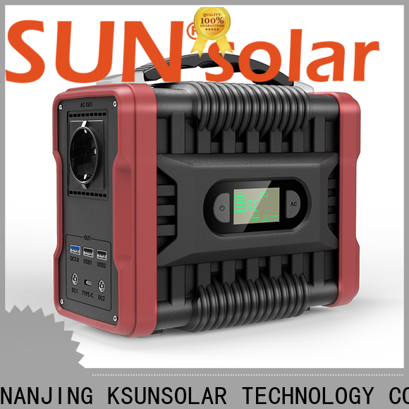 KSUNSOLAR Best portable rechargeable power station Suppliers for powered by