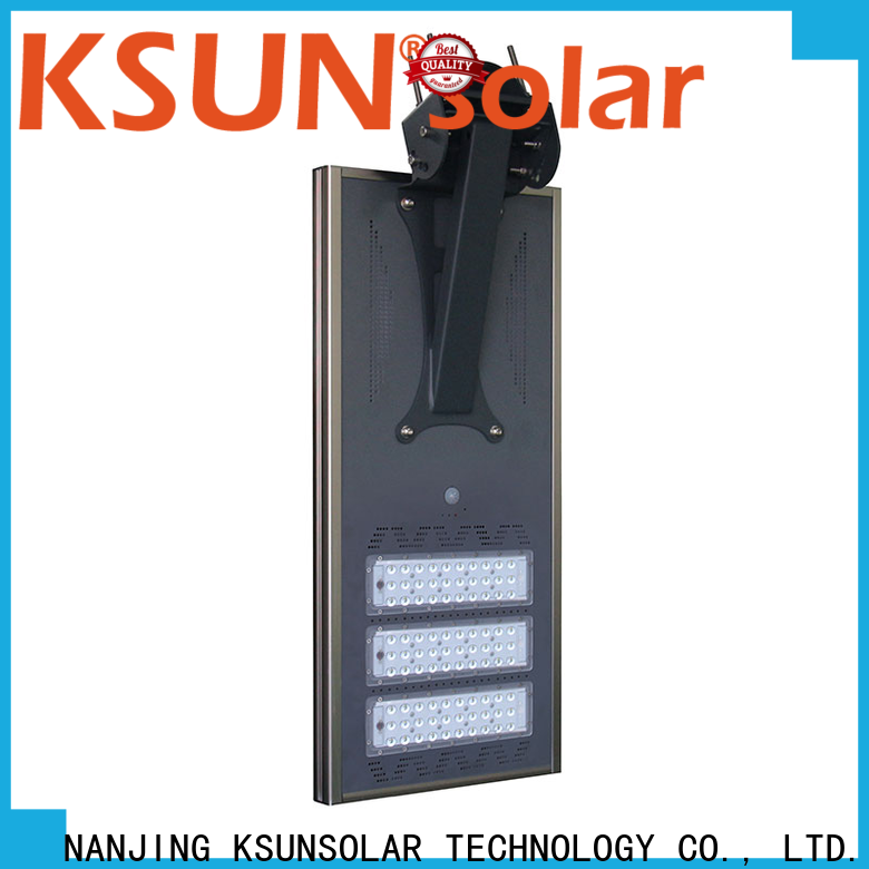 KSUNSOLAR solar led exterior lights factory for powered by