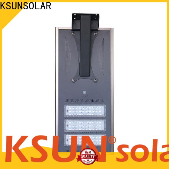 KSUNSOLAR solar powered street lamp factory for Energy saving