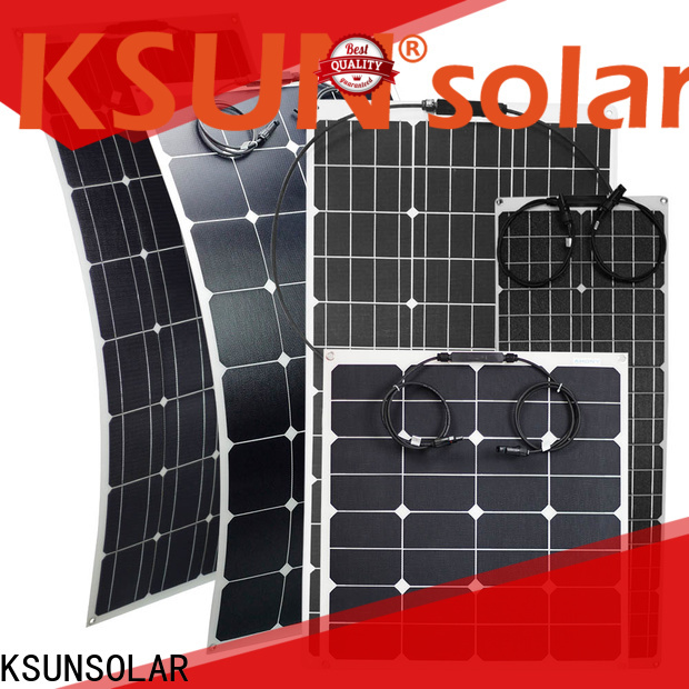 KSUNSOLAR flexible panels Supply for powered by