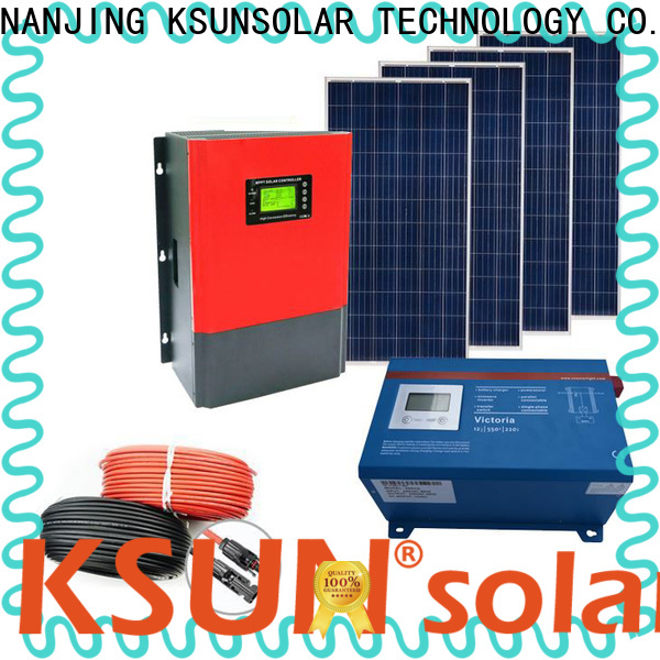KSUNSOLAR solar system equipment suppliers for business for Energy saving