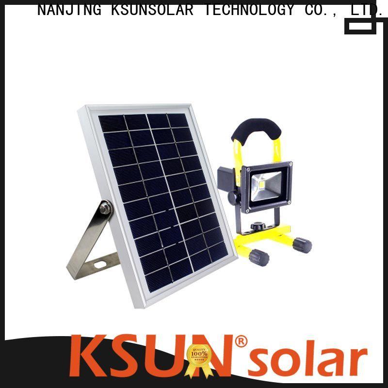 KSUNSOLAR Custom solar flood light company For photovoltaic power generation