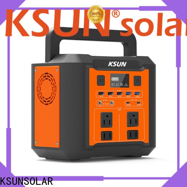 KSUNSOLAR New portable power generator company for Energy saving