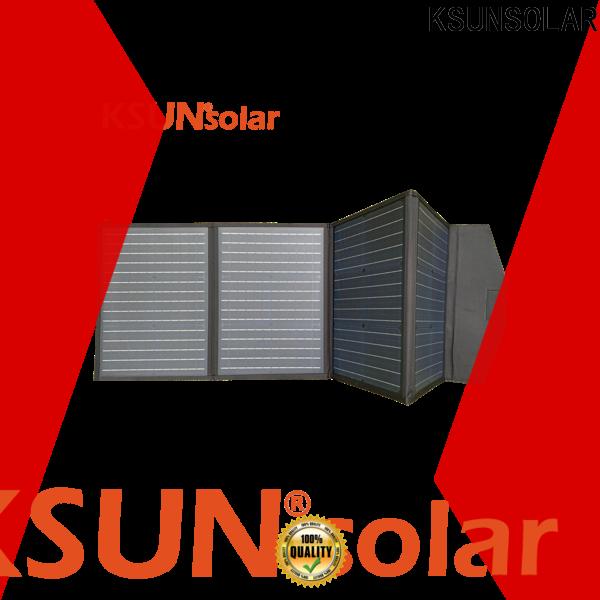 KSUNSOLAR best folding solar panels Supply for Power generation