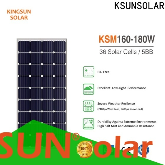 KSUNSOLAR solar panel modules Suppliers for powered by