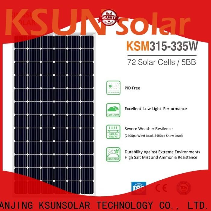 KSUNSOLAR solar panel suppliers factory for Power generation