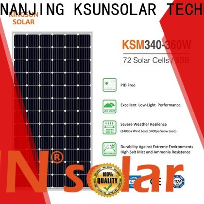 KSUNSOLAR monocrystalline solar panel Suppliers for powered by