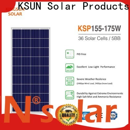 KSUNSOLAR Top polycrystalline solar panels for sale manufacturers for Environmental protection