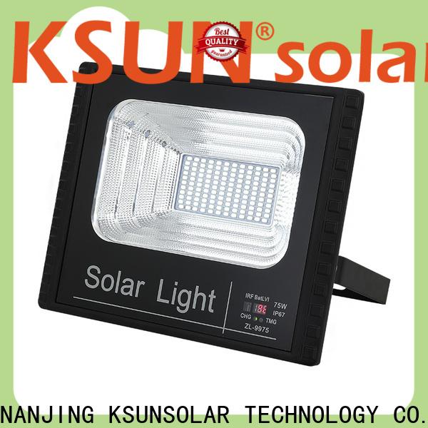 KSUNSOLAR Top outdoor solar flood lights company For photovoltaic power generation