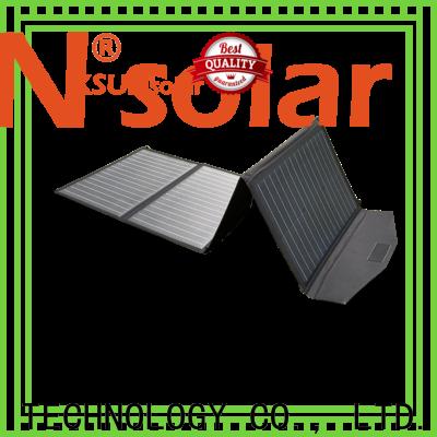 KSUNSOLAR flexible folding solar panels manufacturers for Energy saving