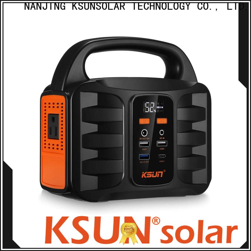 KSUNSOLAR portable power unit manufacturers for Power generation