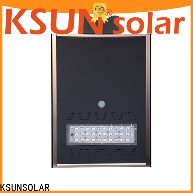 Latest solar street lamp factory for Energy saving