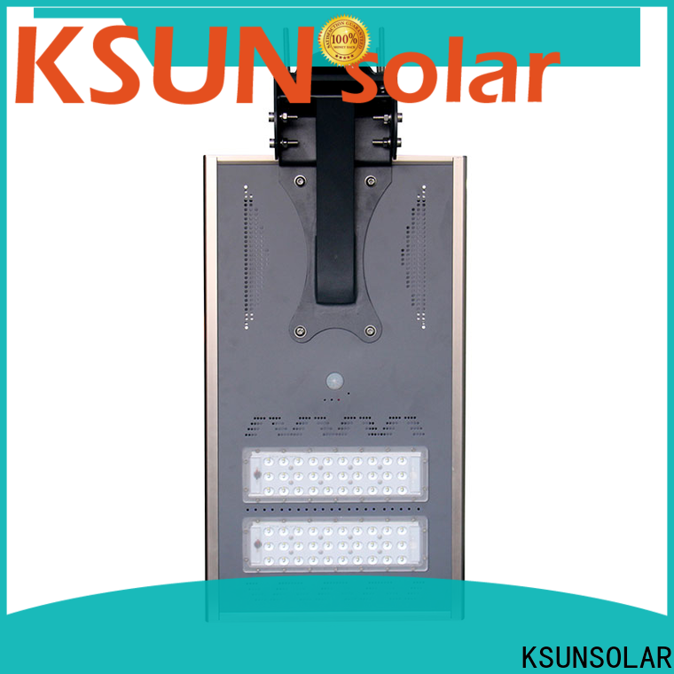 KSUNSOLAR Best solar powered led street lights manufacturers for powered by
