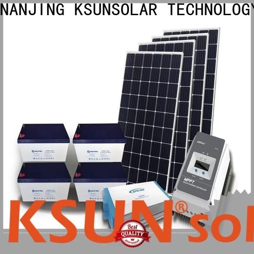 KSUNSOLAR solar power system companies manufacturers for Power generation