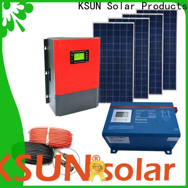 Custom off grid solar systems kits company for Energy saving