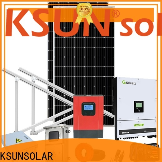 KSUNSOLAR Latest solar equipment companies company for Environmental protection