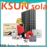 Top grid tied solar kit for Environmental protection