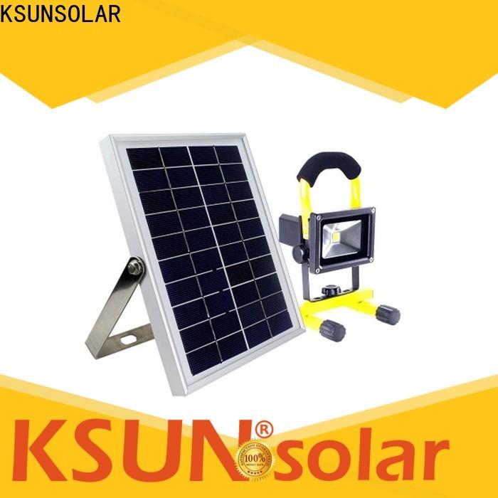 KSUNSOLAR super bright solar flood lights manufacturers for Energy saving