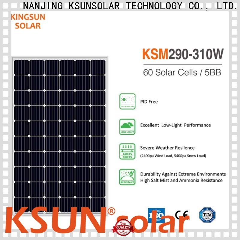 High-quality monocrystalline panels price company for powered by